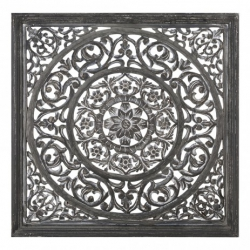 Carf Grey Wooden Panel