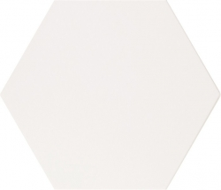 Hexagonaal Pure White